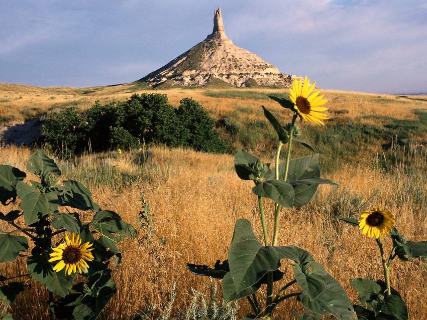 Chimney Rock National Historic Site Nebraska